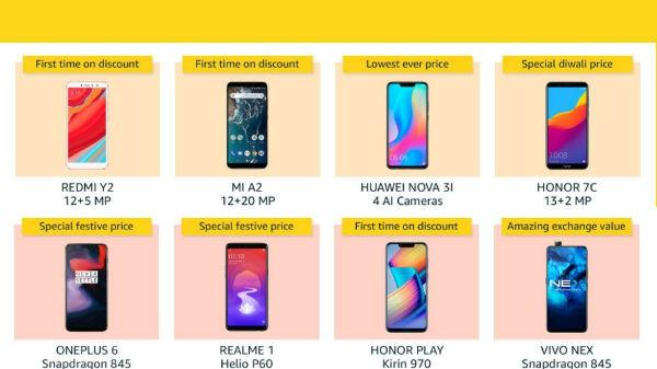f16ecec991c Great Indian Festival Sale offers on smartphones  Special price ...