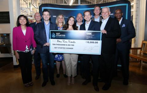 UF Innovate | The Hub Resident Client aha Pure Foods Wins Cox Business' Get Started Gainesville Business Pitch Competition