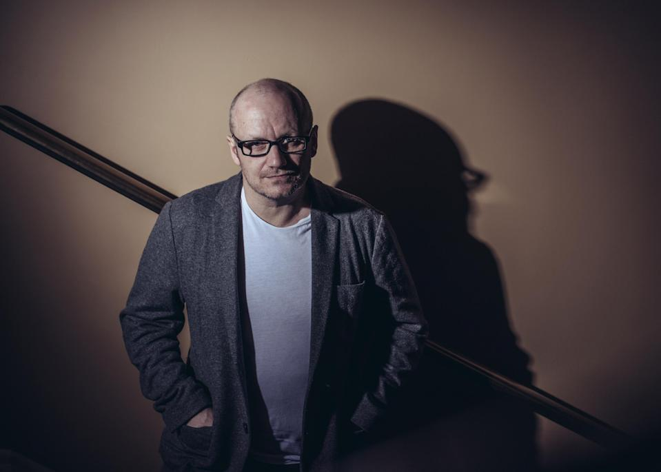 Lenny Abrahamson poses during a portrait session on day seven of the 13th annual Dubai International Film Festival. (Photo by Gareth Cattermole/Getty Images for DIFF)