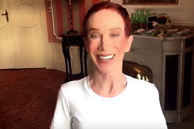 Kathy Griffin Says She'll Host White House Correspondents' Dinner if Trump Attends