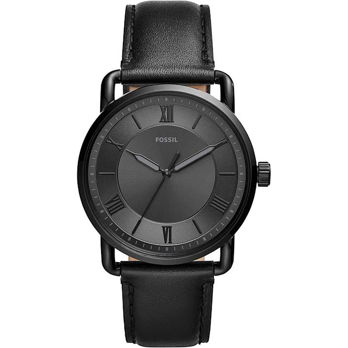 """<p><strong>Fossil</strong></p><p>amazon.com</p><p><strong>$94.97</strong></p><p><a href=""""https://www.amazon.com/dp/B07WQ9WRJ9?tag=syn-yahoo-20&ascsubtag=%5Bartid%7C10054.g.35351418%5Bsrc%7Cyahoo-us"""" rel=""""nofollow noopener"""" target=""""_blank"""" data-ylk=""""slk:Shop Now"""" class=""""link rapid-noclick-resp"""">Shop Now</a></p><p>Another Copeland, but this one is the sexy evil twin from New York. </p>"""
