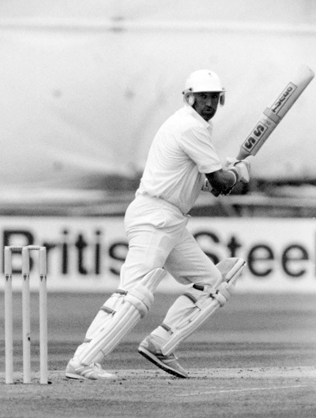 Graham Gooch was dropped on 36 before going on to make 333 against India (PA Archive)