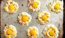 "<p>These are a perfect Keto option.</p><p>Get the recipe from <a href=""https://www.delish.com/cooking/recipe-ideas/recipes/a52748/cloud-eggs-recipe/"" rel=""nofollow noopener"" target=""_blank"" data-ylk=""slk:Delish"" class=""link rapid-noclick-resp"">Delish</a>. </p>"