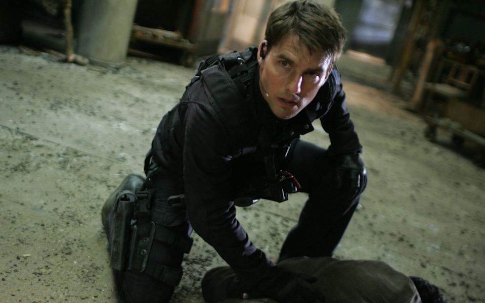 Tom Cruise's Ethan Hunt in Mission: Impossible 3 - Film Stills/Stephen Vaughan
