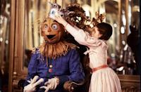 """<p>You can tell right off the bat this sequel isn't going to be as bright and fun as the original <em>The Wizard of Oz</em>: It starts with Dorothy getting electroconvulsive therapy for telling """"stories"""" about Oz. But Dorothy isn't just telling stories, and, when she finally returns to Oz, she finds it to be a much darker and more threatening place.<br></p><p><a class=""""link rapid-noclick-resp"""" href=""""https://www.amazon.com/gp/video/detail/B003Y059EK?tag=syn-yahoo-20&ascsubtag=%5Bartid%7C10055.g.28038087%5Bsrc%7Cyahoo-us"""" rel=""""nofollow noopener"""" target=""""_blank"""" data-ylk=""""slk:WATCH ON AMAZON"""">WATCH ON AMAZON</a> <a class=""""link rapid-noclick-resp"""" href=""""https://go.redirectingat.com?id=74968X1596630&url=https%3A%2F%2Fwww.disneyplus.com%2Fmovies%2Freturn-to-oz%2F6PZWN9A7KPEt&sref=https%3A%2F%2Fwww.goodhousekeeping.com%2Flife%2Fentertainment%2Fg28038087%2Fbest-scary-movies-for-kids%2F"""" rel=""""nofollow noopener"""" target=""""_blank"""" data-ylk=""""slk:WATCH ON DISNEY+"""">WATCH ON DISNEY+</a></p>"""