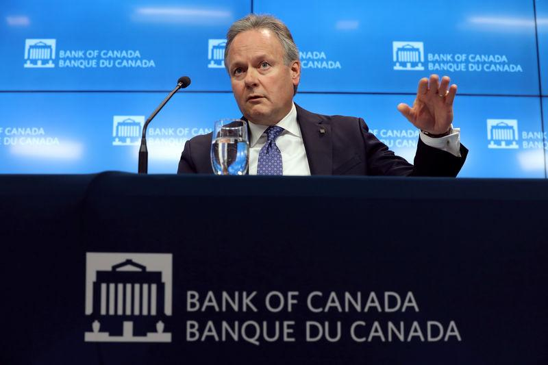 FILE PHOTO: Bank of Canada Governor Stephen Poloz speaks during a news conference in Ottawa