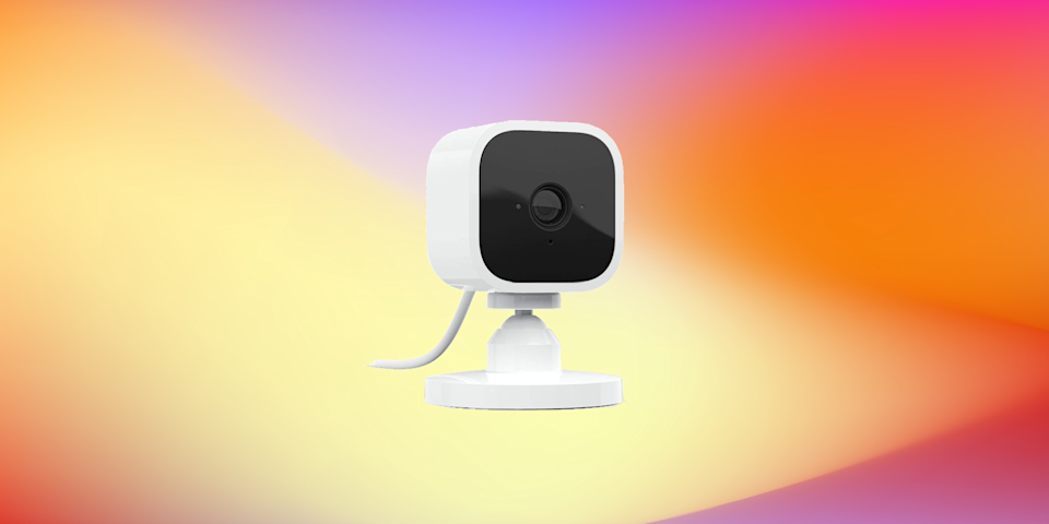 Stay safe—and save big—with the Blink Mini HD smart home camera. (Photo: Amazon)