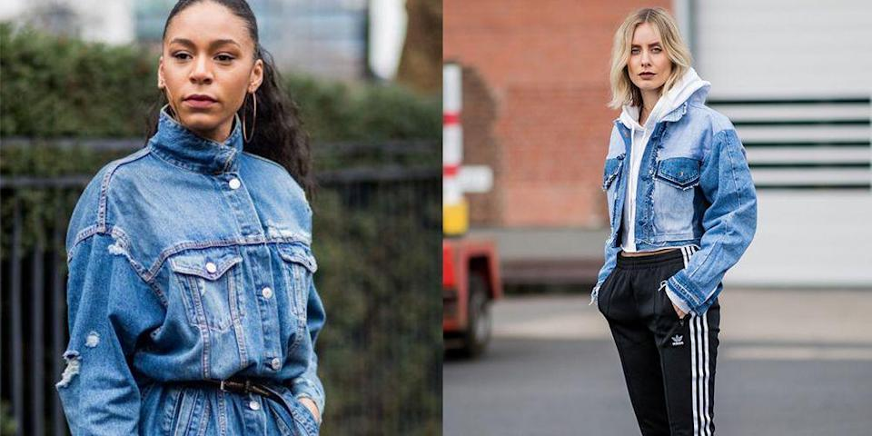 "<p>A denim jacket is an essential in your wardrobe no matter what the season. But it's especially the perfect layering piece for the fall, whether worn by itself or <a href=""https://www.goodhousekeeping.com/clothing/winter-coat-reviews/g2273/highest-rated-womens-winter-coats/"" rel=""nofollow noopener"" target=""_blank"" data-ylk=""slk:under a warmer coat"" class=""link rapid-noclick-resp"">under a warmer coat</a>. It is versatile and can be the finishing touch for almost any outfit. Pair it with your <a href=""https://www.goodhousekeeping.com/clothing/g27816744/best-fall-dresses/"" rel=""nofollow noopener"" target=""_blank"" data-ylk=""slk:best dress"" class=""link rapid-noclick-resp"">best dress</a> or go super causal by adding more denim (yes!) and a <a href=""https://www.goodhousekeeping.com/clothing/g27678015/white-t-shirts-for-women/"" rel=""nofollow noopener"" target=""_blank"" data-ylk=""slk:t-shirt"" class=""link rapid-noclick-resp"">t-shirt</a>. </p><p>If you really want to make a jean jacket stand out, you can opt for a colorful one. Dozens of brands are upping their denim jacket game by offering them in green, pink, and even purple. You can opt for a shade more appropriate for the season, so for summer go with a white one, and in the fall, try orange. Dare to be different! </p><p>For more on how to style your favorite denim piece, check out our tips for how it can so much more than a weekend style, along with our favorite jean jackets.</p>"