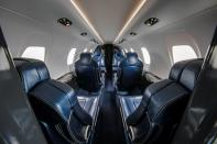 Handout photo of a mock up of the interior of Textron Cessna Citation XLS+ Gen 2 in Wichita