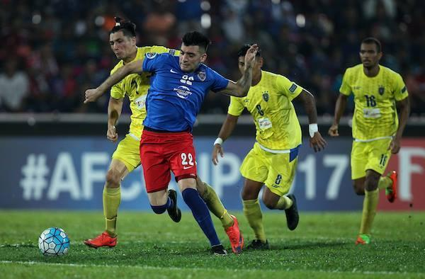 Three first half goals conceded meant that JDT faces a fight on their hands to finish top of Group F in the 2017 AFC Cup