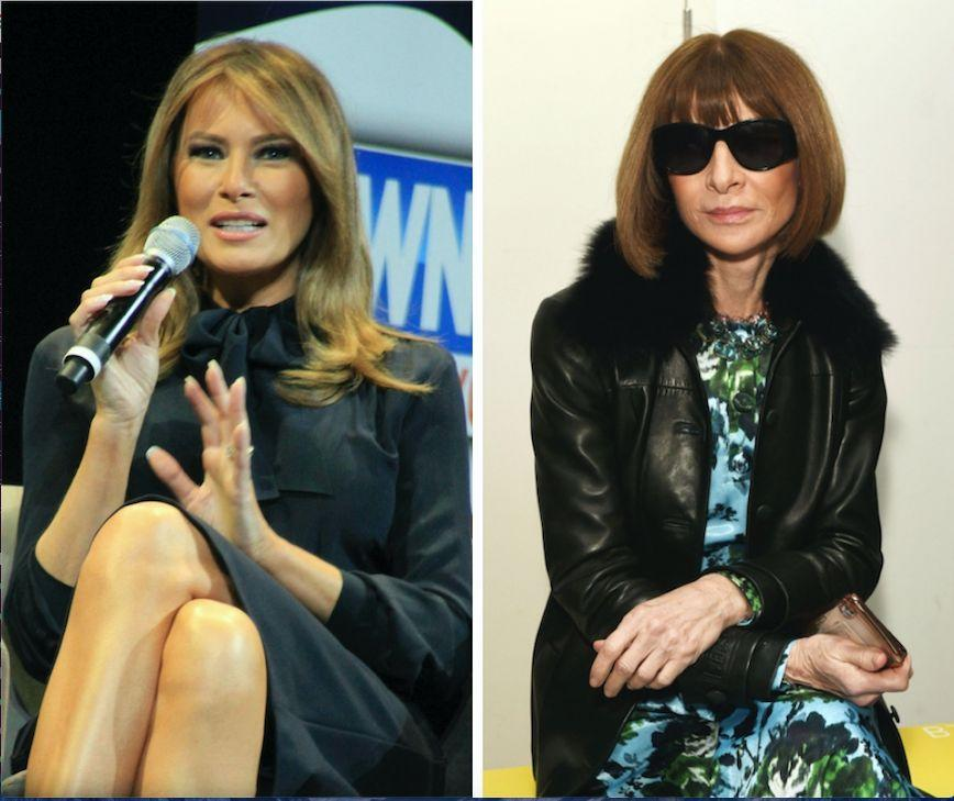 Melania Trump Responds To Anna Wintour's Vogue Cover Comments