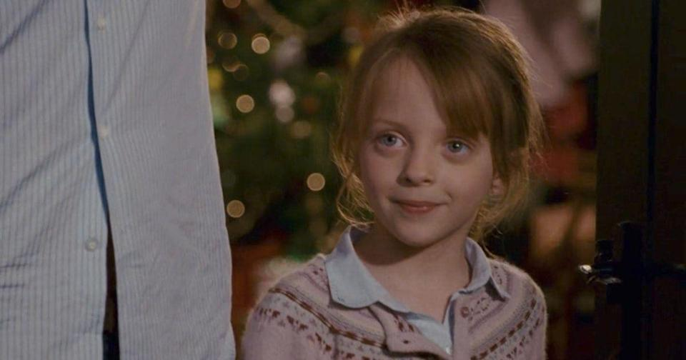 <p>Miffy played Sophie, one of Jude Law's daughters in The Holiday. She and co-star Emma Pritchard - who played Law's other daughter Olivia, were famously a big part of the Mr Napkinhead scene. Iconic.</p>