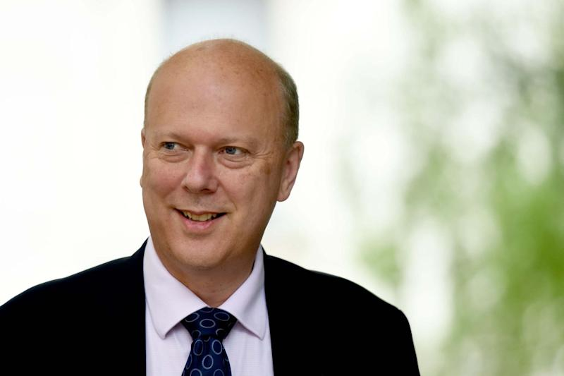 Transport Secretary Chris Grayling's nomination was heavily criticised (PA)