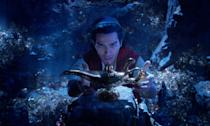 <p>A genie (Will Smith) accompanies Aladdin (Mena Massoud) on an epic quest in this live-action adaptation of Disney's classic animation. </p>