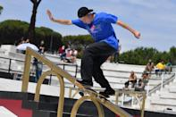 """<p>The only member without a <a href=""""http://usaskateboarding.com/"""" class=""""link rapid-noclick-resp"""" rel=""""nofollow noopener"""" target=""""_blank"""" data-ylk=""""slk:USA Skateboarding profile"""">USA Skateboarding profile</a>, Floridian skater Jake is already well known as the <a href=""""http://www.xgames.com/athletes/4018028/jake-ilardi"""" class=""""link rapid-noclick-resp"""" rel=""""nofollow noopener"""" target=""""_blank"""" data-ylk=""""slk:2018 champion of the International Skateboarding Open in Nanjing"""">2018 champion of the International Skateboarding Open in Nanjing</a>. To see more on his stance and sponsors, check out his <a href=""""http://theboardr.com/profile/4320/Jake_Ilardi"""" class=""""link rapid-noclick-resp"""" rel=""""nofollow noopener"""" target=""""_blank"""" data-ylk=""""slk:profile on The Boarder"""">profile on The Boarder</a>.</p> <p><strong>Olympic Team:</strong> Men's Skateboard Street</p> <p><strong>Age:</strong> 24</p> <p><strong>Hometown:</strong> Osprey, FL</p> <p><strong>Instagram: </strong><a href=""""http://www.instagram.com/jakeilardi/?hl=en"""" class=""""link rapid-noclick-resp"""" rel=""""nofollow noopener"""" target=""""_blank"""" data-ylk=""""slk:@jakeilardi"""">@jakeilardi</a></p>"""