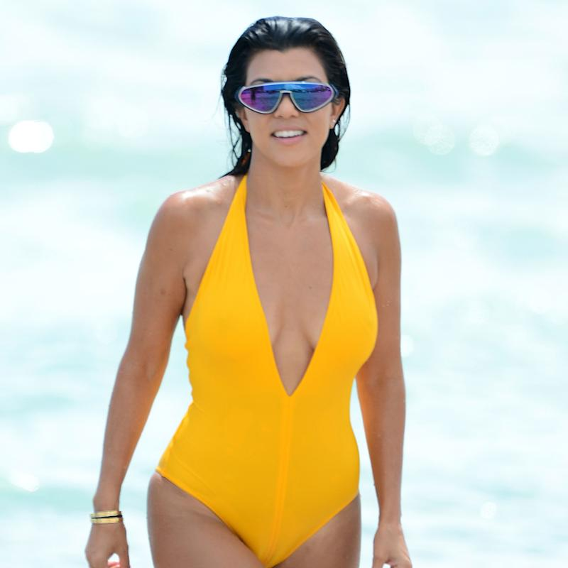 Watch Out, Kim! Kourtney Kardashian May Have the Best Swimwear Game of All