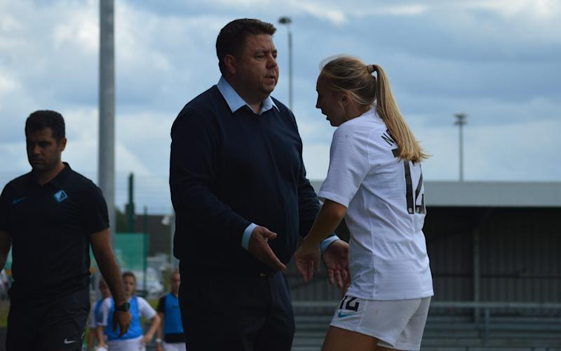 Chris Phillips, the former head coach of Millwall Lionesses, says more women's clubs should strike out on their own - Holly Hinds