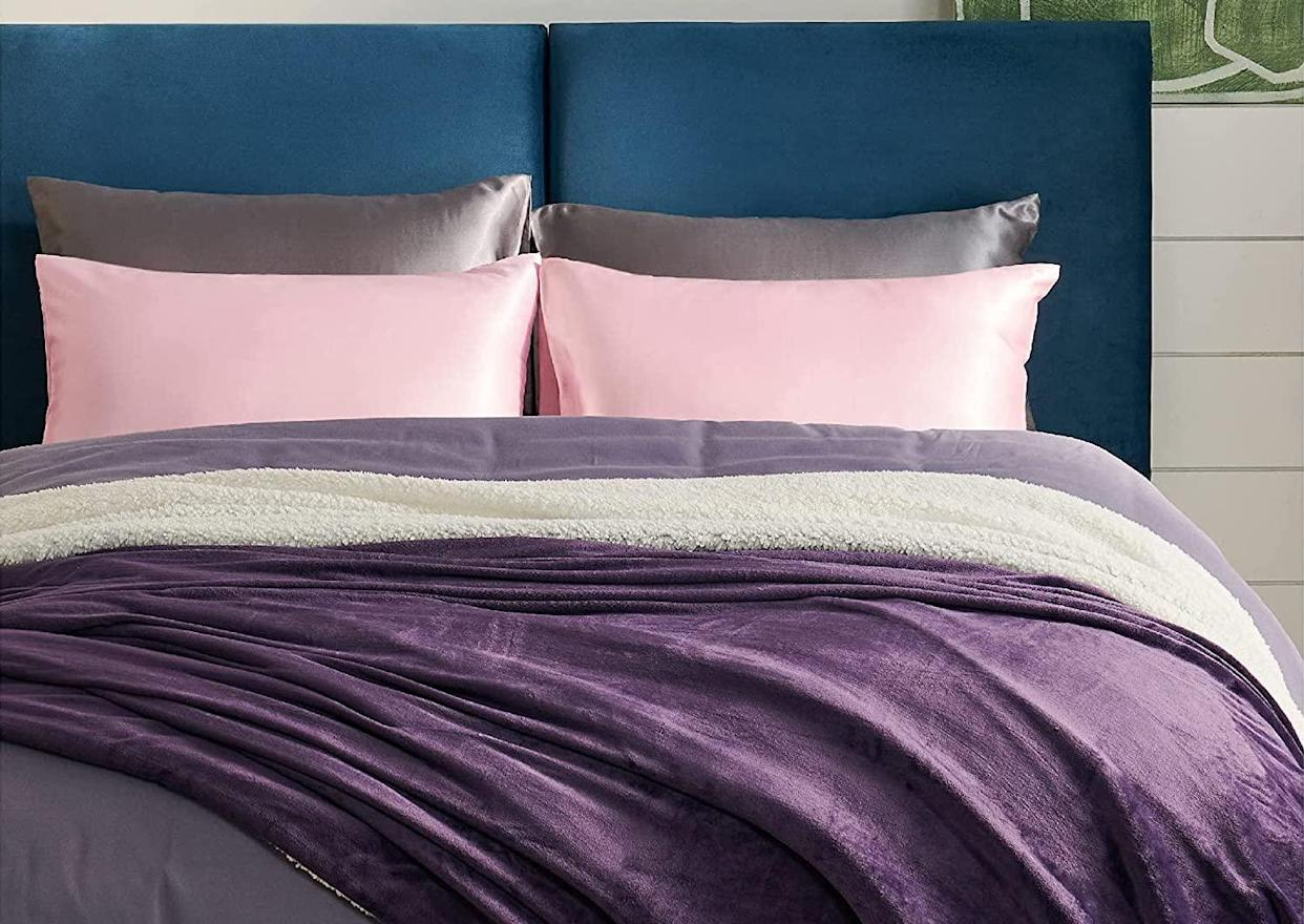 These pillowcases will look great perched on your bed. (Photo: Amazon)
