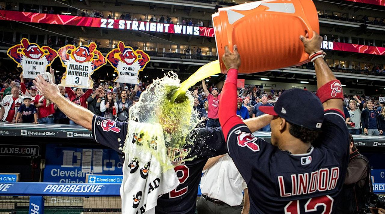 <p>Saturday provided nothing more than a formality for the Indians: they officially clinched their second straight AL Central title.</p><p>What's yet to be decided and could prove to be just as important is home-field advantage. Now that the All-Star Game no longer dictates which league hosts four games in the Fall Classic, home-field advantage is up for grabs through the World Series for the team that finishes with the best record in baseball.</p><p>If Cleveland can stave off the Astros—who trail the Indians by 1 1/2 games for the AL's top record—the Indians will be guaranteed home-field advantage through at least the ALCS. The Dodgers' 11-game losing streak coupled with the Indians' 22-game winning streak also opened a window for Cleveland to unseat LA as baseball's winningest team, but things have normalized over the past few days. The Indians streak ended and the Dodgers have now won four in a row.</p><p>Why might home-field advantage be important for the Indians? Last year they skated past the Astros and Blue Jays in consecutive postseason series with home-field advantage. They were in a similar spot against the Cubs too, holding a 3-1 World Series advantage with Games 6 and 7 to be played at Progressive Field. While that didn't work out for the Indians, the team is 3-1 in postseason series (not counting the one-off 2013 wild-card game) in which they've had home-field advantage dating back to 2007. The Indians' 44 wins at home are tied for the second-most in the American League. </p><p>Don't think Cleveland will coast through the final 13 games of the regular season. They need to nab every advantage they can to bust a 69-year championship drought.</p>