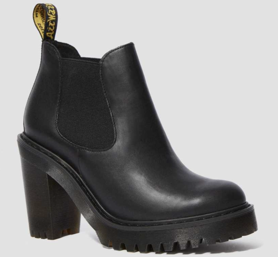 Dr Martens Hurston Women's Leather Heeled Chelsea Boots