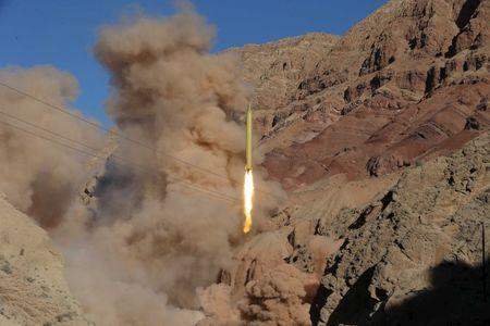 A ballistic missile is launched and tested in an undisclosed location, Iran