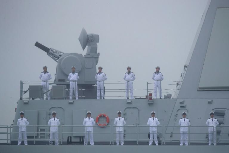 The United States sees China's expansion of its naval presence in the Western Pacific as its principal geopolitical challange