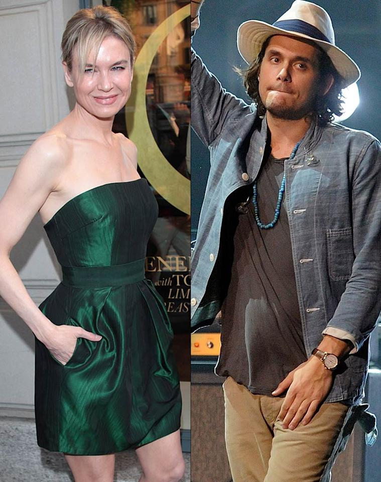 "Perez Hilton reports that Renee Zellweger is dating John Mayer. According to the blogger, Zellweger and Cooper ""have been 'quietly' going on dates in Los Angeles and New York."" For how long the two have been secretly dating, and when they plan to go public with their romance, read what a Zellweger pal leaks to <a href=""http://www.gossipcop.com/renee-zellweger-dating-john-mayer-dates/"" target=""new"">Gossip Cop</a>. Ethan Miller/<a href=""http://www.gettyimages.com/"" target=""new"">GettyImages.com</a> - May 19, 2011"