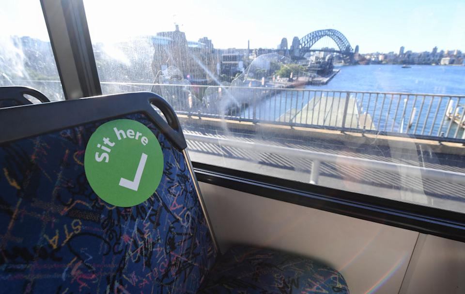 Sydney is on alert over a new cluster in the city's east. Source: AAP