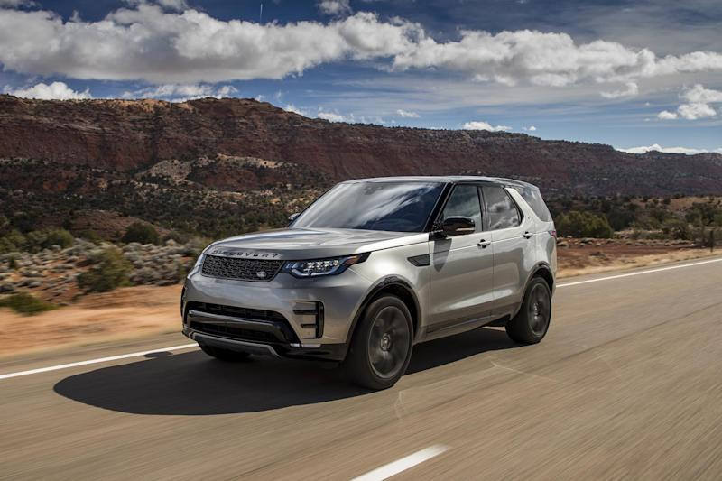 In a class of its own: the new Discovery is brilliant both on and off the road