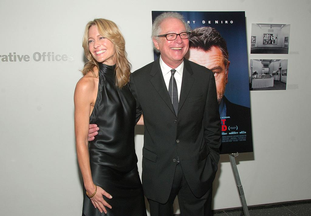 "<a href=""http://movies.yahoo.com/movie/contributor/1800019047"">Robin Wright Penn</a> and director <a href=""http://movies.yahoo.com/movie/contributor/1800017711"">Barry Levinson</a> at the New York premiere of <a href=""http://movies.yahoo.com/movie/1809739709/info"">What Just Happened</a> - 10/01/2008"