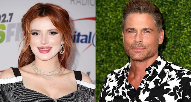 Bella Thorne and Rob Lowe (Photo: Getty Images)