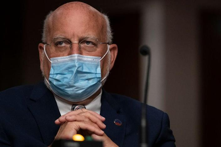 Dr Robert Redfield has criticised the White House over its handling of the pandemic (Getty Images)