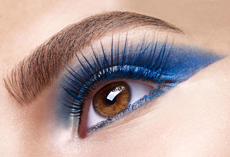 925a9ce2c42 Colored Eyelashes Are the Secret to Making Your Eyes Pop