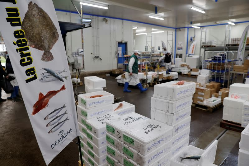 Brexit upends seamless supply chains for France's fish merchants