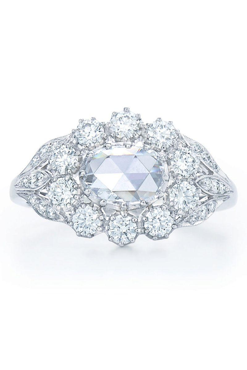 "<p><em><strong>Kwiat</strong> Oval Rose-Cut Diamond Cluster Ring set in an East-West setting, from $3,900, <a href=""http://kwiat.com/"" rel=""nofollow noopener"" target=""_blank"" data-ylk=""slk:kwiat.com"" class=""link rapid-noclick-resp"">kwiat.com</a></em></p><p><a class=""link rapid-noclick-resp"" href=""https://go.redirectingat.com?id=74968X1596630&url=http%3A%2F%2Fkwiat.com%2F&sref=https%3A%2F%2Fwww.harpersbazaar.com%2Fwedding%2Fbridal-fashion%2Fg7427%2Fvintage-engagement-rings%2F"" rel=""nofollow noopener"" target=""_blank"" data-ylk=""slk:SHOP"">SHOP</a> </p>"