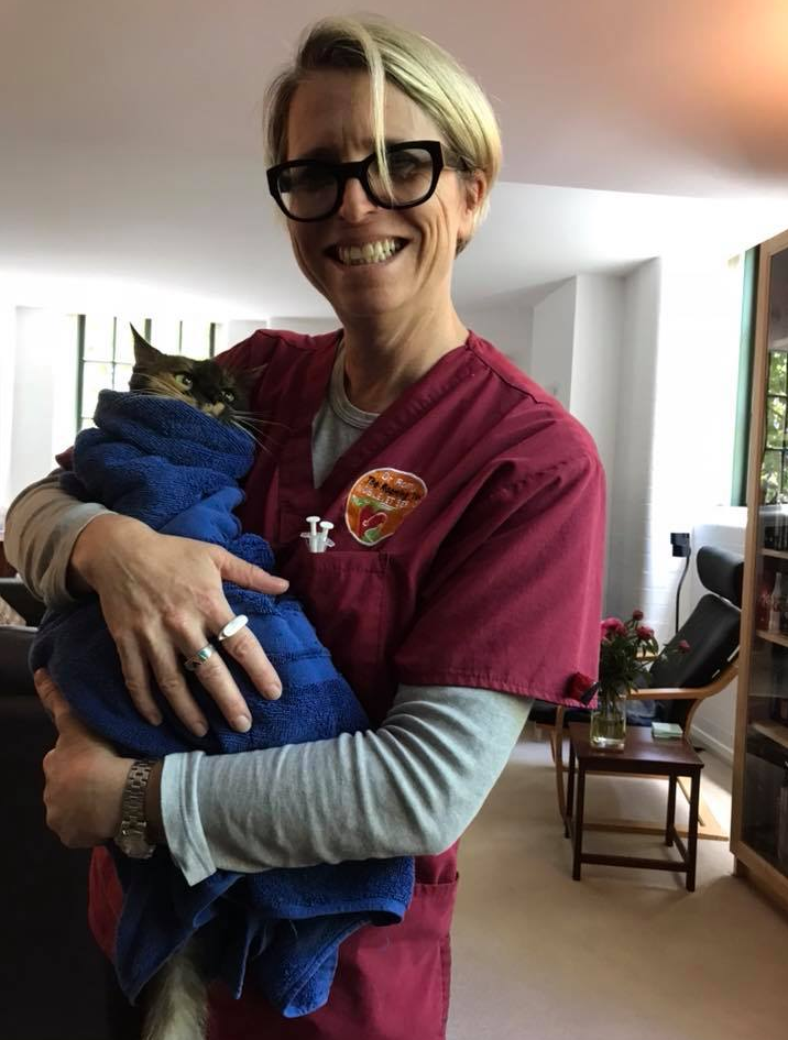 Sydney vet Romy Feldman warned pet owners about cat and dog health in thick bushfire smoke.