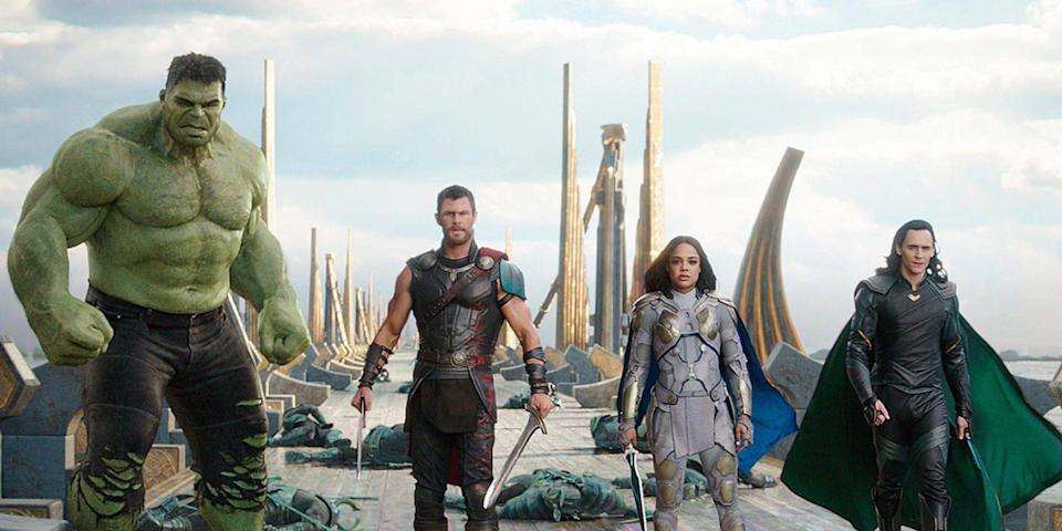 Hulk, Thor, Valkyrie and Loki should appear in 'Infinity War' (Disney)