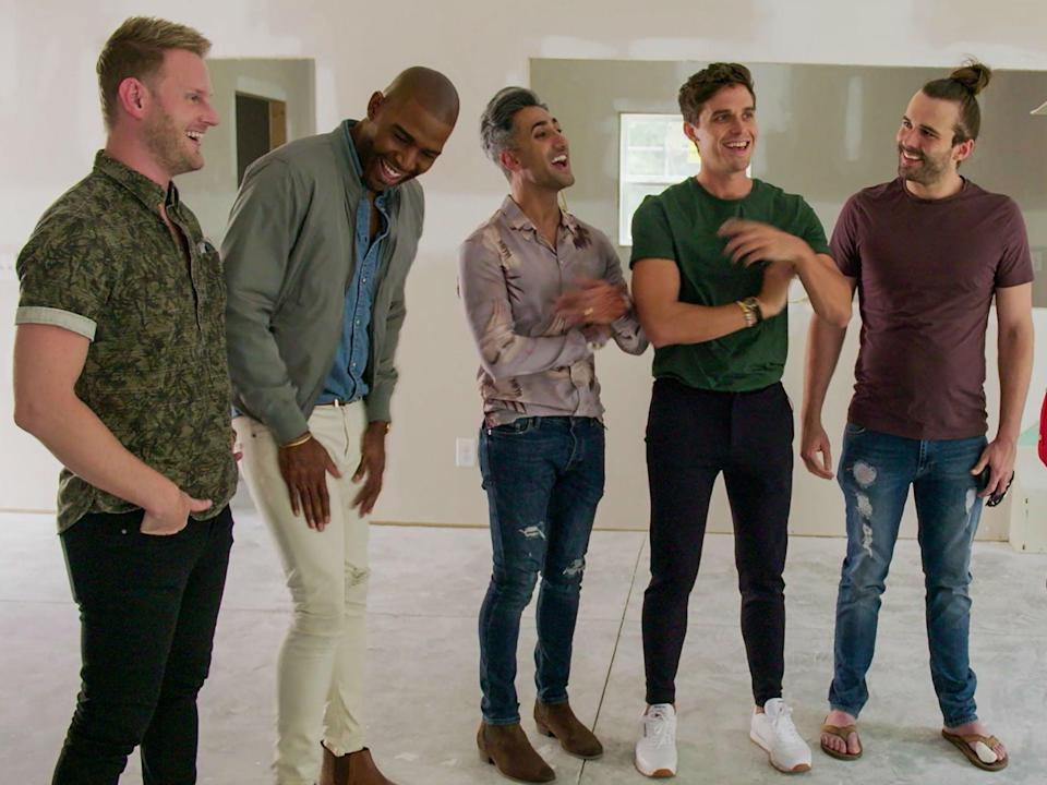 The Fab Five in 'Queer Eye'Netflix