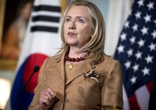 Up to 27 million people are living in slavery around the world, US Secretary of State Hillary Clinton, pictured on June 14, estimated as the US unveiled its annual report into human trafficking