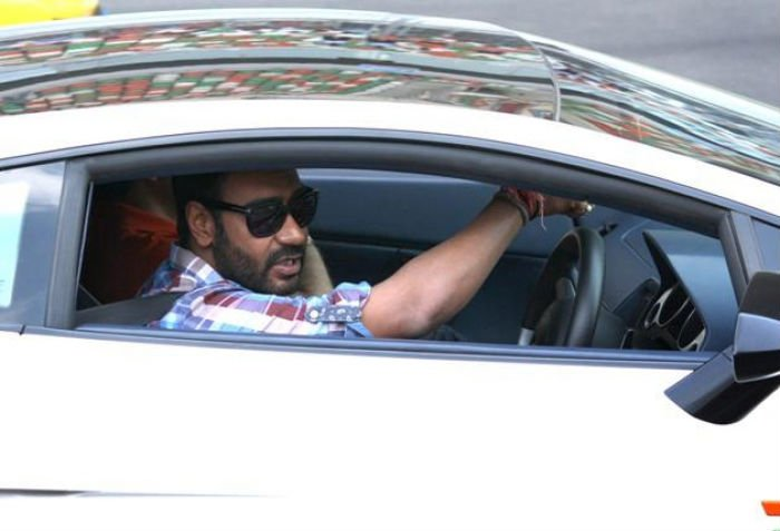 Ajay Devgn: He has a lovely Maserati Quattroporte. It's a beast, we tell you. By the way, Sushant Singh Rajput has also bought the same car recently.