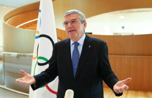 IOC president Thomas Bach refused to be drawn on the issue of athletes taking a knee