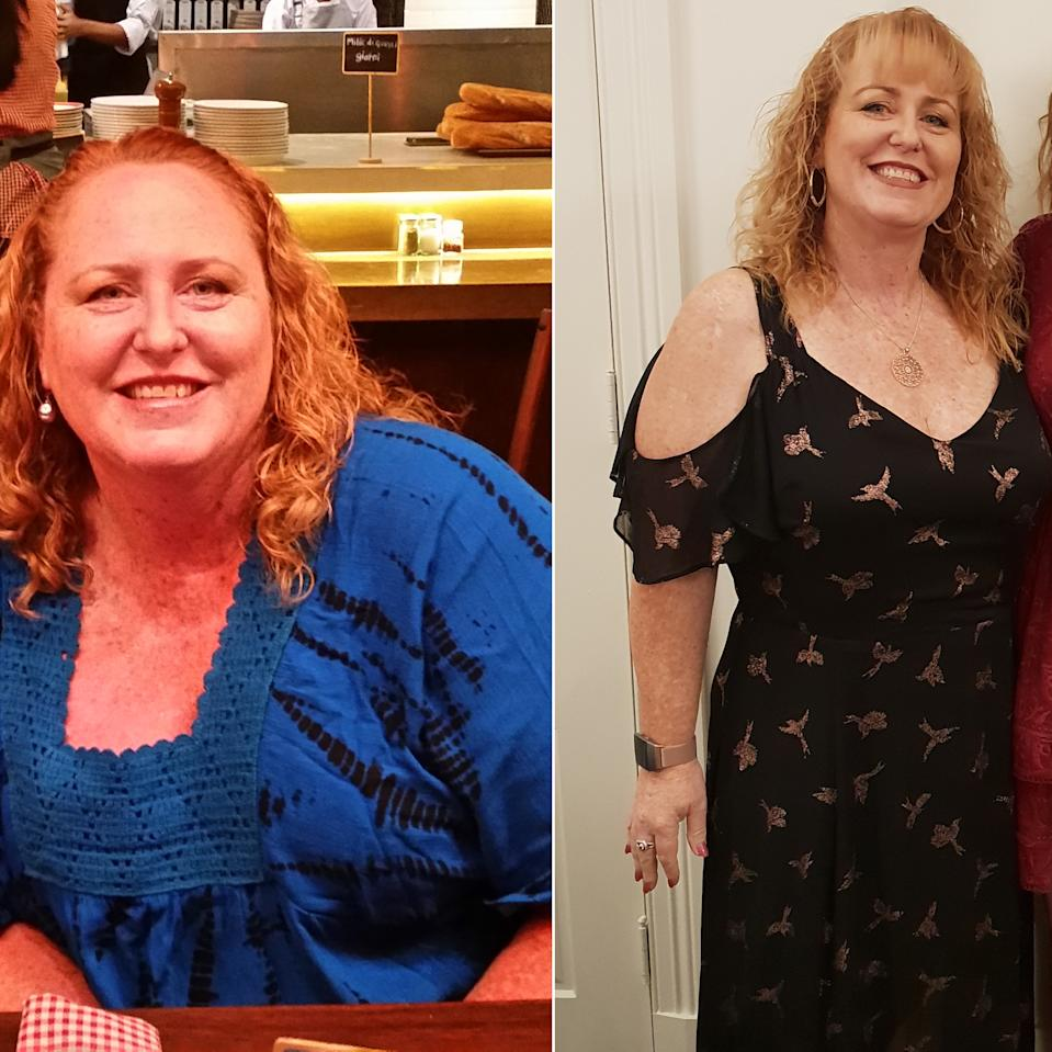 samantha hill weight loss