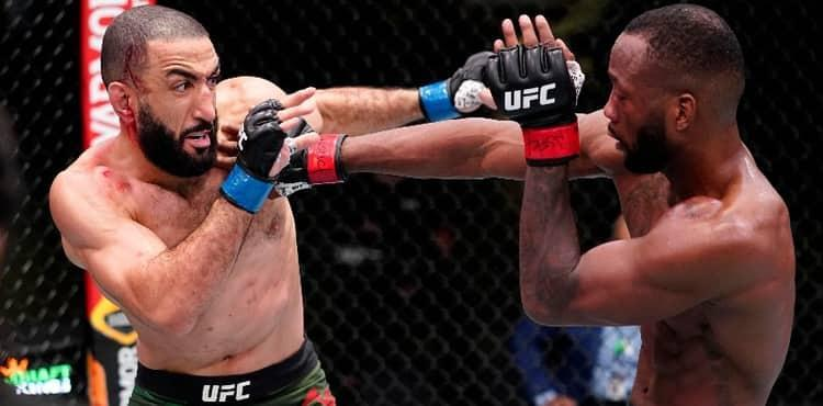 UFC Vegas 21 results: Leon Edwards punches Belal Muhammad ahead of no contest