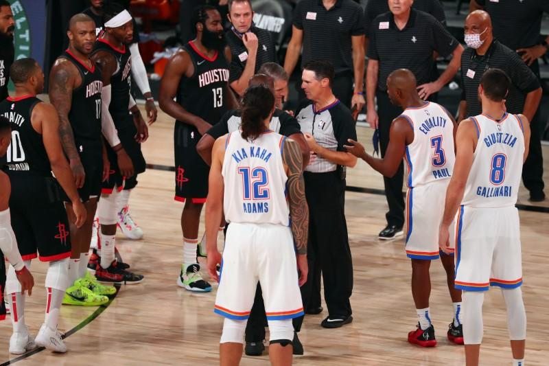 Rockets hang on to defeat Thunder, move on to West semis