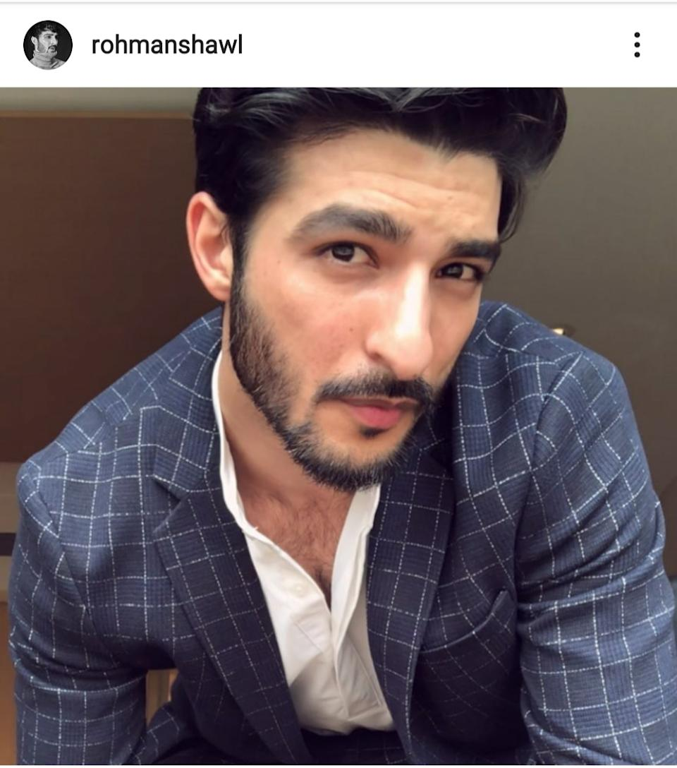 Though the 27-year-old model has walked the ramp for designers like Sabyasachi and Manish Malhotra a few times, it was his link up with former Miss Universe Sushmita Sen that got him the recognition, and his name floated across news sites. Again, the discussions are seldom about any of his modelling gigs, and mostly for a cosy video featuring him posted by his famous girlfriend on her Instagram or a lovey-dovey capture.