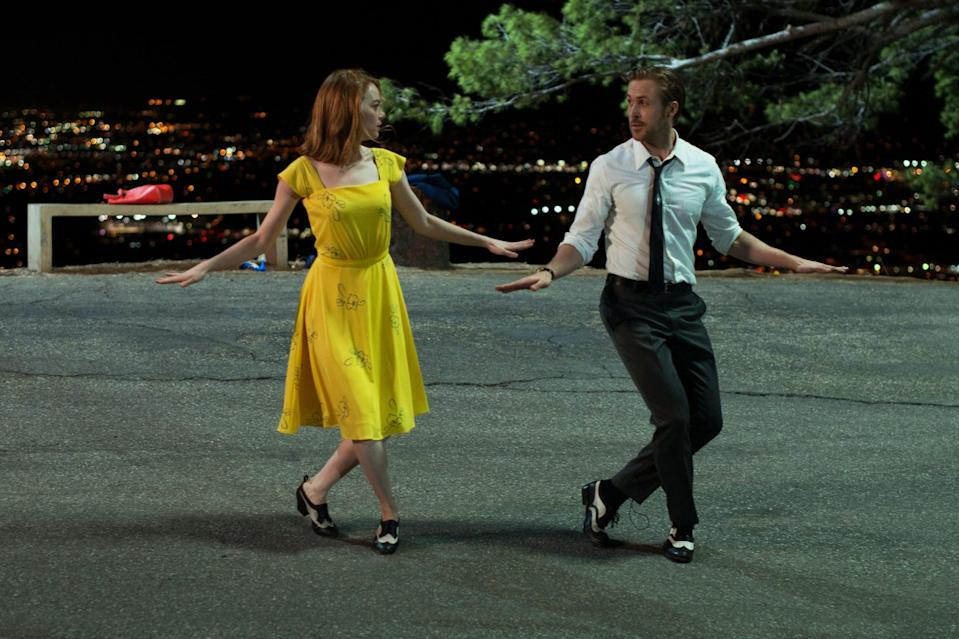 "<p>Well, Damien Chazelle did that. <a href=""https://www.popsugar.com/entertainment/Movies-Emma-Stone-Ryan-Gosling-Have-Been-Together-42386744"" class=""link rapid-noclick-resp"" rel=""nofollow noopener"" target=""_blank"" data-ylk=""slk:Ryan Gosling and Emma Stone"">Ryan Gosling and Emma Stone</a> portray two struggling artists in LA who fall in love but find their relationship struggling as their careers take off. The <a href=""https://www.popsugar.com/entertainment/Why-Did-Warren-Beatty-Announce-Wrong-Winner-Oscars-43233595"" class=""link rapid-noclick-resp"" rel=""nofollow noopener"" target=""_blank"" data-ylk=""slk:Moonlight mix-up""><strong>Moonlight </strong>mix-up</a> and Gosling explaining jazz to <a class=""link rapid-noclick-resp"" href=""https://www.popsugar.com/John-Legend"" rel=""nofollow noopener"" target=""_blank"" data-ylk=""slk:John Legend"">John Legend</a> aside, <strong>La La Land </strong>is a striking cinematic masterpiece that's a comedy, romance, musical, and drama bundled up with impeccable choreography and beautiful set design. </p>"