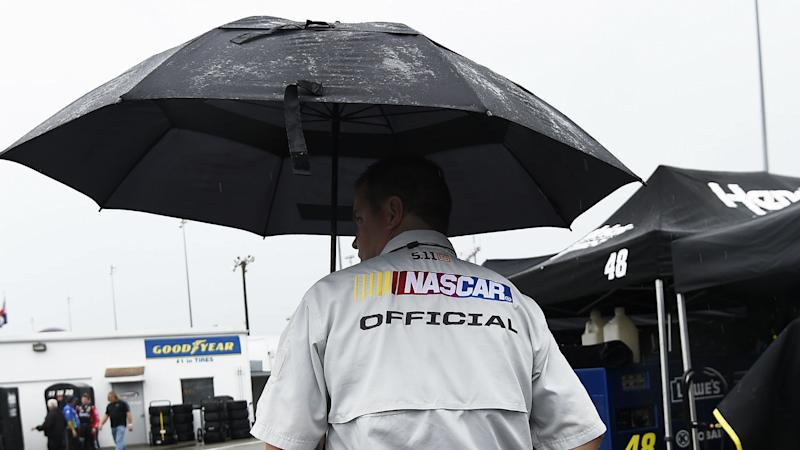 Rain postpones Food City 500 until Monday — NASCAR at Bristol