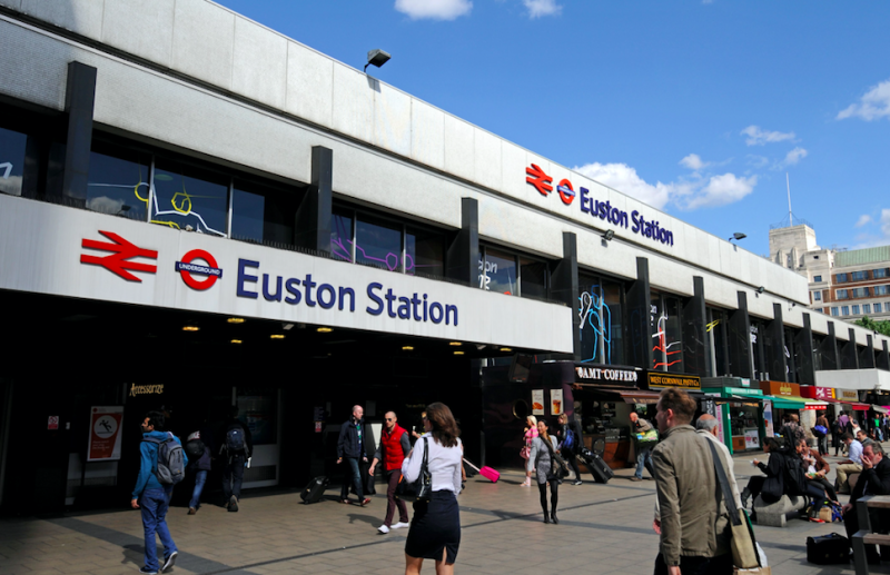 Euston to welcome homeless people for festive event