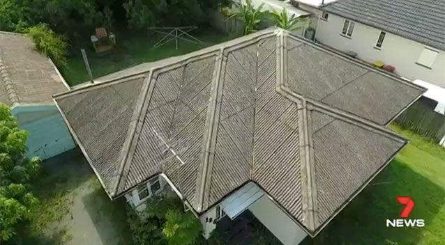 This house in the Queensland suburb of Taigum is being advertised for 'free'. Source: 7 News