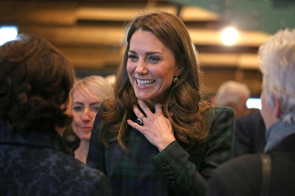 The Duchess of Cambridge in Dundee on Tuesday [Photo: Getty]